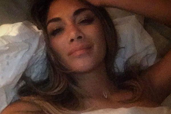 naked pics of nicole scherzinger in bed