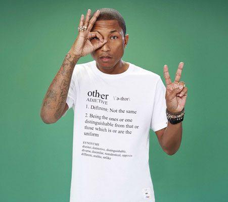 pharrell williams launches new fashion line with uniqlo
