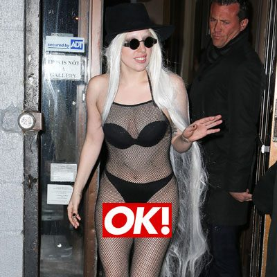 lady gaga totally nakeed