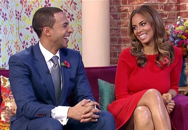 The Saturdays beauty and her JLS star hubby thoroughly enjoyed filling Holly Willoughby's shoes