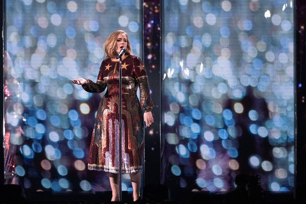 Adele had a successful night at the awards ceremony