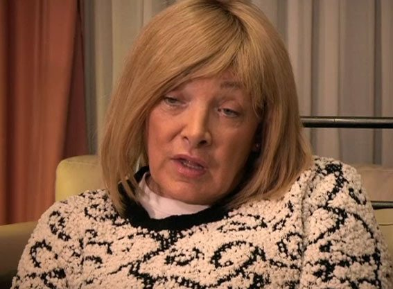 Kellie on her documentary No Way Back