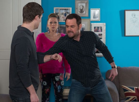 Danny Dyer has teased a 'dark' new storyline on EastEnders
