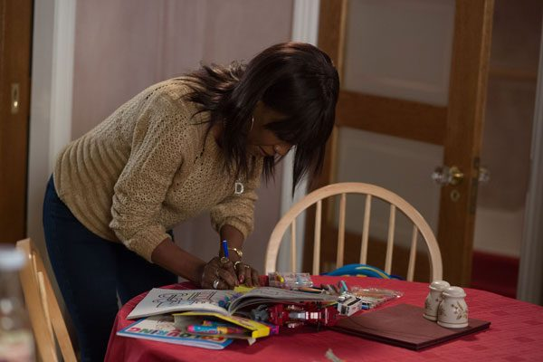 Denise will write a note for Libby telling her of Jordan's plans, but will she see it in time?