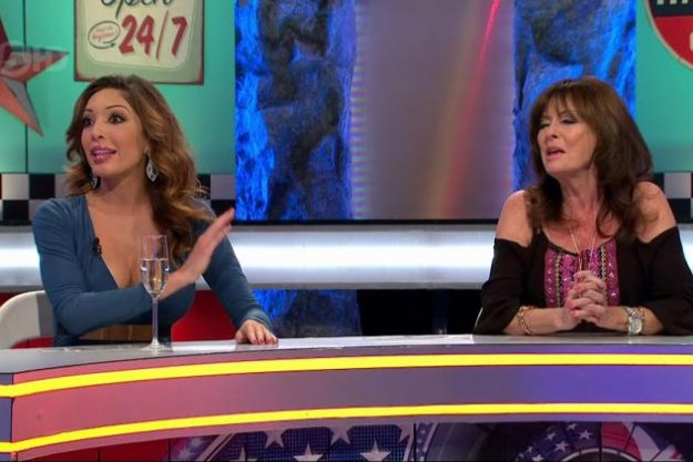 Vicki Michelle got caught in the crossfire