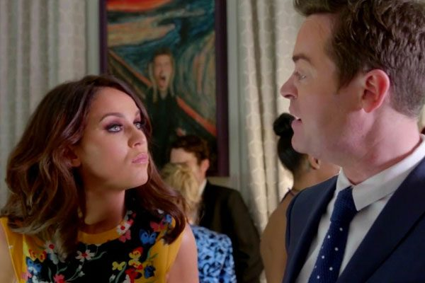 Stephen Mulhern and Vicky Pattison also make an appearance in the sketch
