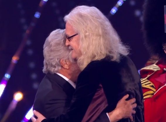 Dustin Hoffman presented his 'friend' the award for Special Recognition