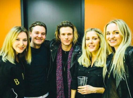 Ellie Goulding and Dougie Poynter have reconciled