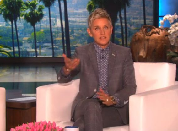 Ellen DeGeneres has welcomed her UK viewers with a hilarious video
