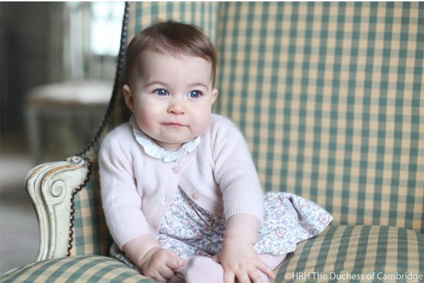 Princess Charlotte is 6 months old