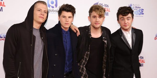 The 22-year-old is the frontman for Rixton