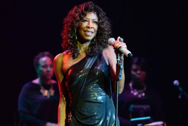 Natalie Cole performing in 2014