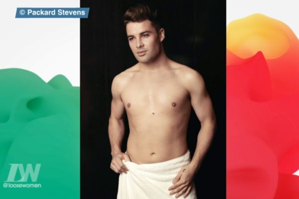 Joe's topless photoshoot was also shown on the daytime show