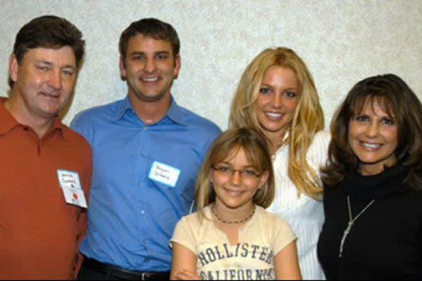 Bryan Spears alongside his famous family