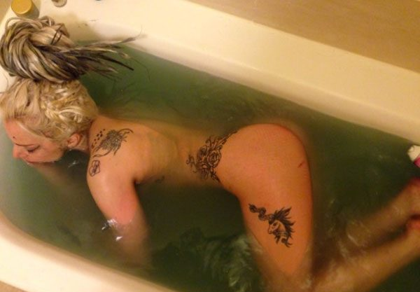 The Artpop singer reckons cleaning up her act means getting naked