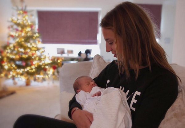 Ferne McCann says she's in love with baby Paul Knightley
