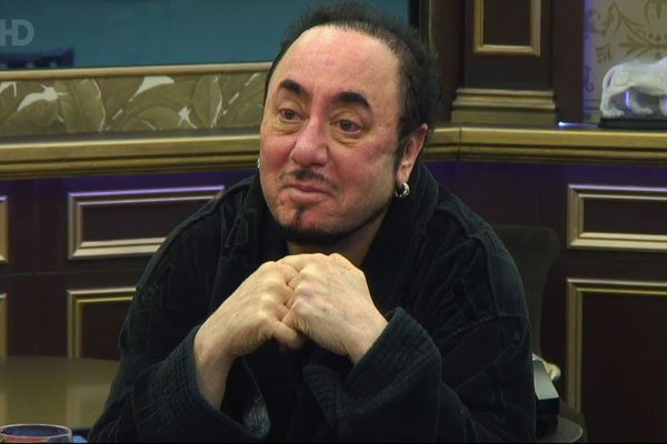 David Gest has quit Celebrity Big Brother