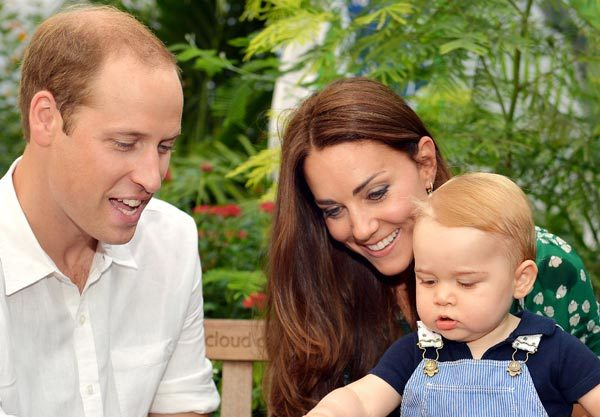 Prince George is getting to grips with nature