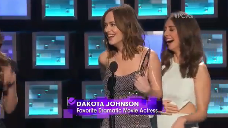 It all went wrong when Leslie hugged Dakota
