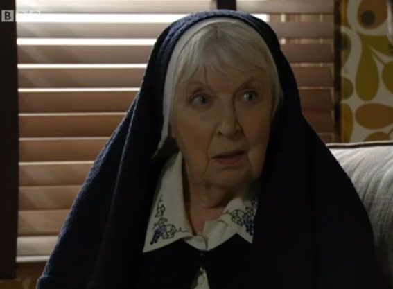 Sister Ruth told Kat that she had given birth to twins, and not just a daughter