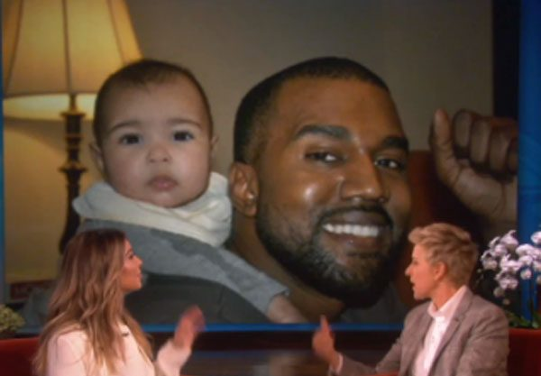 Kim Kardashian said Kanye West is a hands-on dad