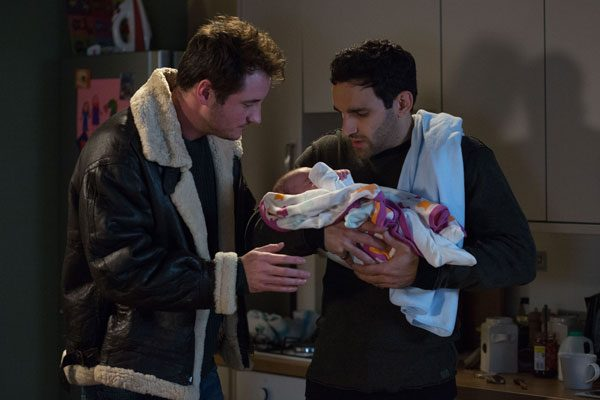 Martin Fowler will be seen asking Kush to look after Arthur, not knowing that Kush is Arthur's biological dad