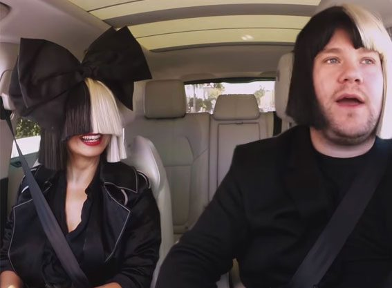 James Corden's wig game is strong!