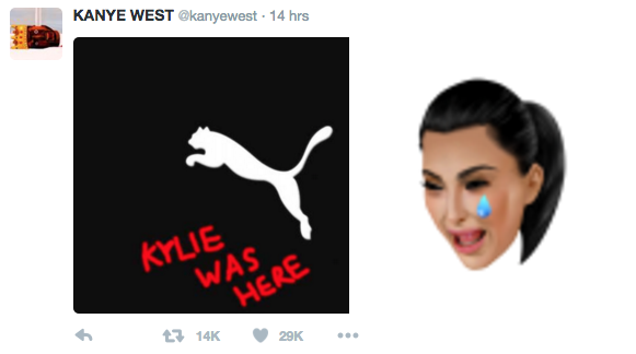 Kanye West continues to hit out at Puma
