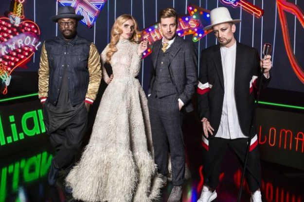 The Voice UK mentors