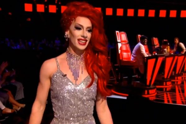 The drag queen vowed to continue despite not getting further in the show