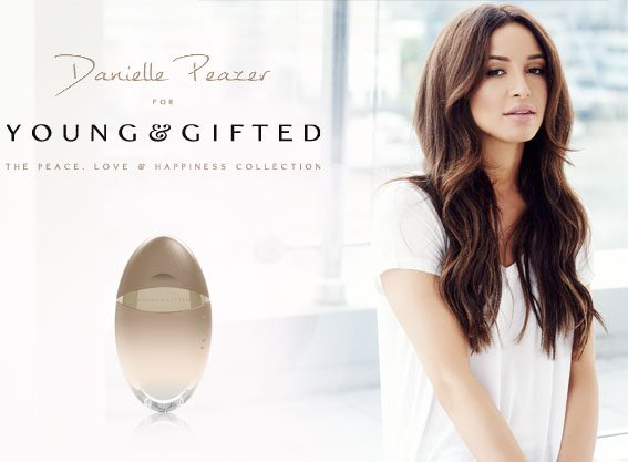 Danielle Peazer's collection name was inspired by her tattoo