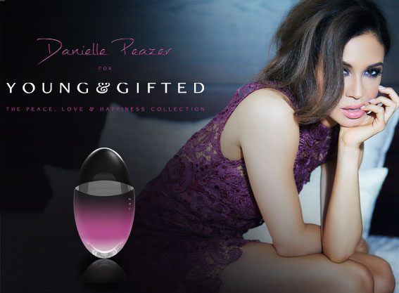 Danielle Peazer has 3 eye shadow palettes, as well as 3 perfumes