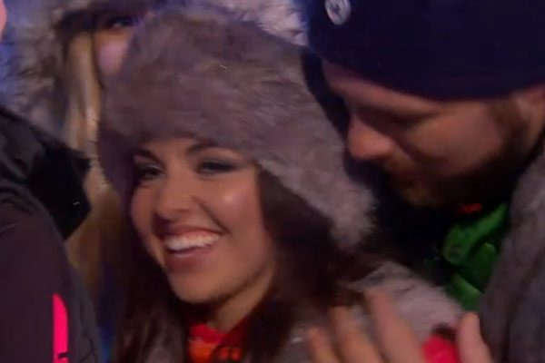 Louisa Lytton became the first contestant to leave The Jump