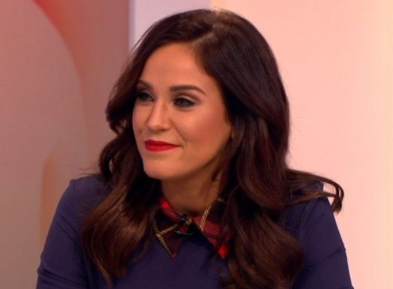 Vicky Pattison joked she had covered up for the show