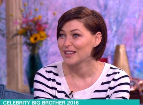 Emma Willis on This Morning discussing Celebrity Big Brother