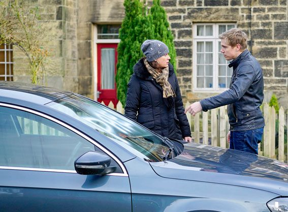 Chas Dingle and Robert Sugden vow to bring down Gordon Livesy after he confessed to abusing son Aaron