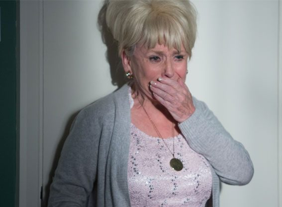 Peggy Mitchell is leaving EastEnders forever