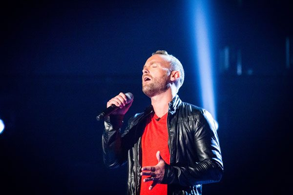 Liberty X's Kevin Simm will be seen auditioning on The Voice