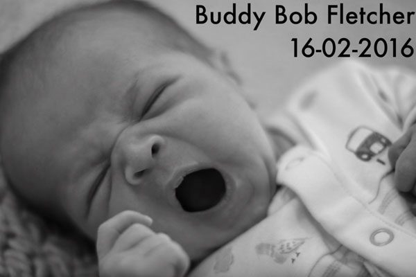 Tom Fletcher introduced Buddy to the world with his latest video