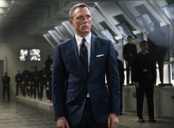 The actor has played 007 for a decade