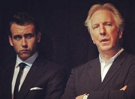 Matthew Lewis shared a photo of himself with the late movie legend