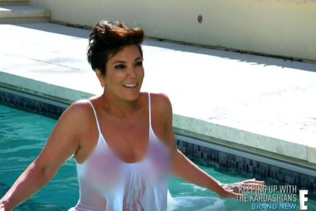 And Kris jenner naked pic this