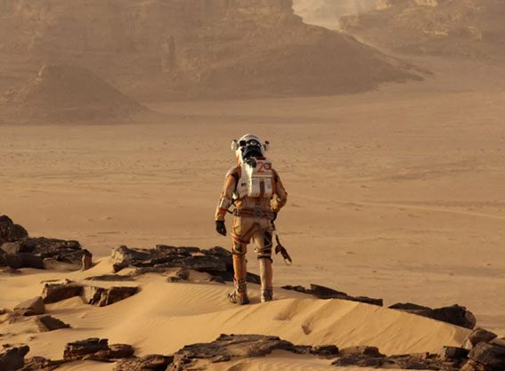 Could The Martian sweep the board?