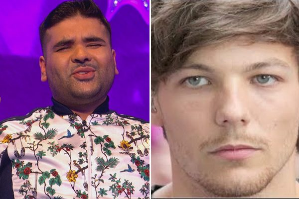 Naughty boy V Louis Tomlinson