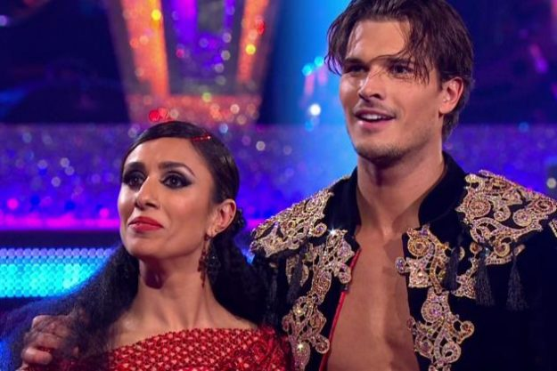 Gleb Savchenko isn't afraid to flash the flesh