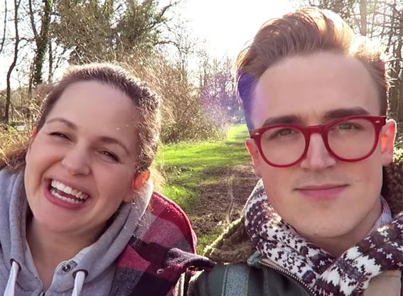 Tom Fletcher thinks Giovanna will give birth TODAY