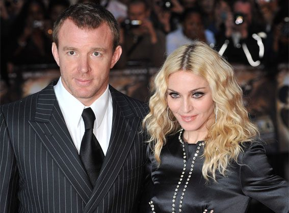 Madonna and Guy Ritchie are at war over their son Rocco