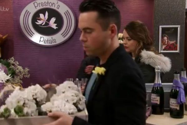 But not all Coronation Street fans were impressed with the name Preston's Petals