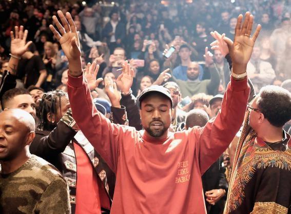 Kanye West at Yeezy  GL