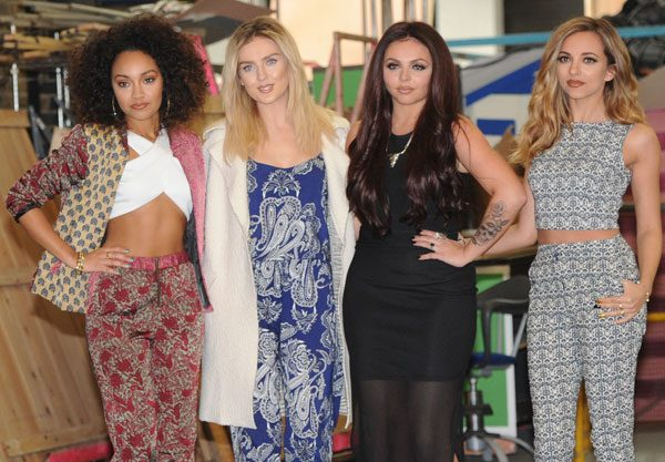 Perrie Edwards and the girls are back for their second nail range